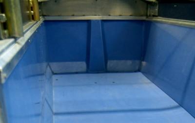 Revêtement en polyéthylène pour remorques réalisation 2